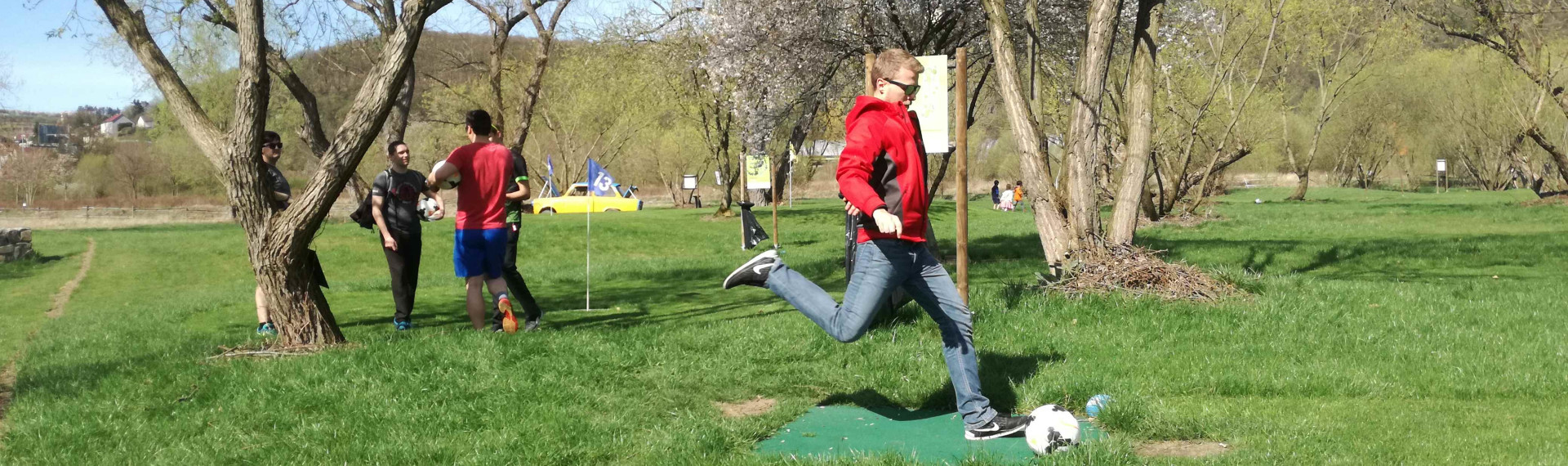 Footgolf Prague | Pissup | Stag Experts since 2001