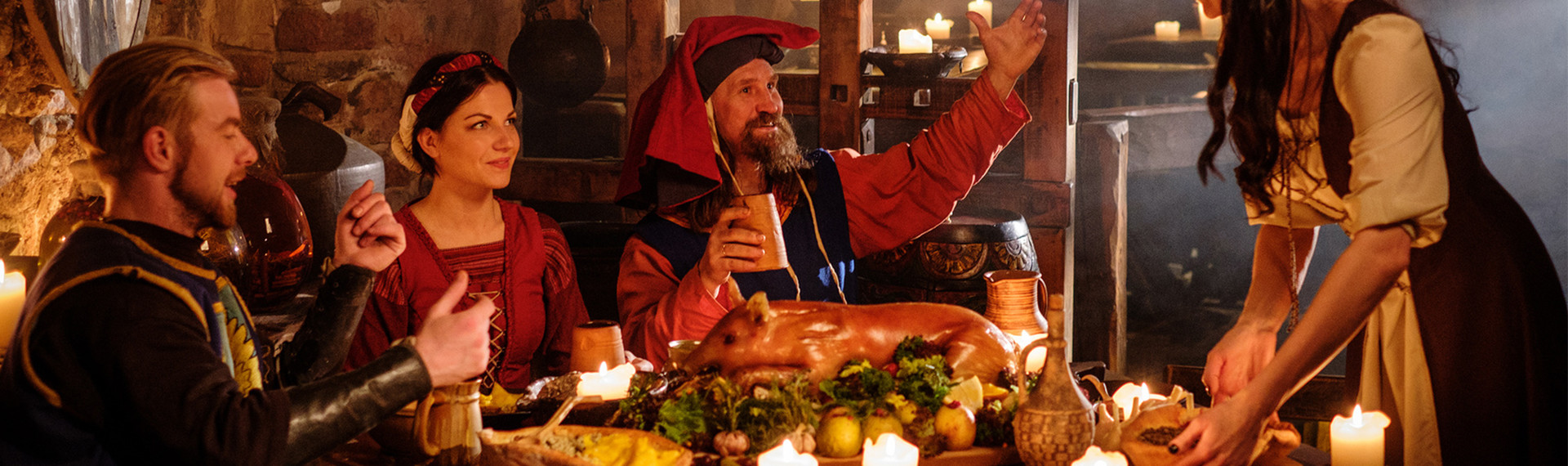 Medieval Dinner in Budapest | Pissup Tours