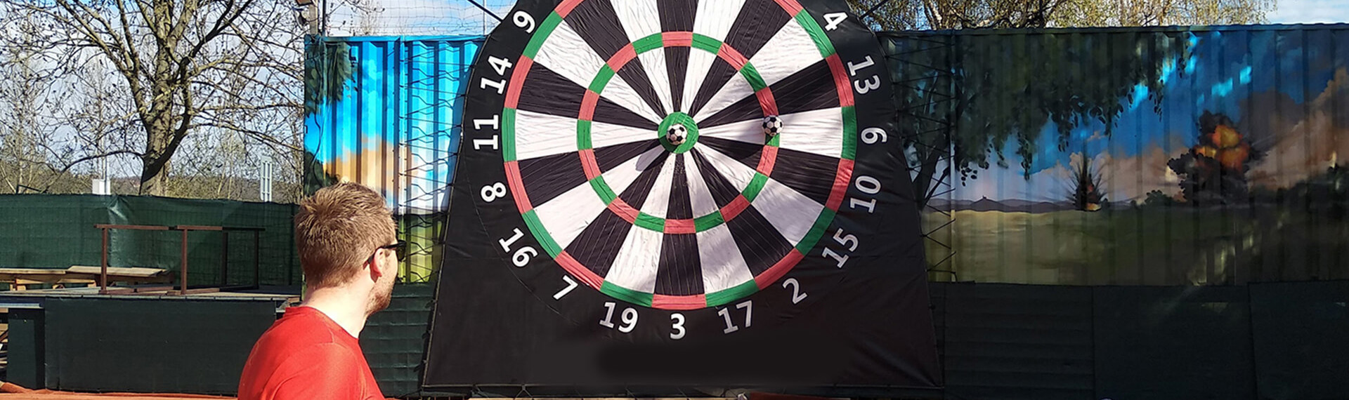 Football Darts in Munich | Pissup Stag Dos | We are the Stag Do Experts