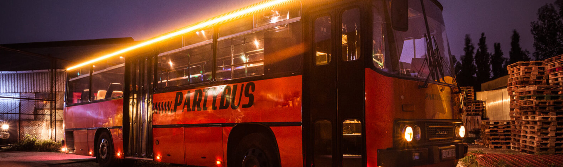 Party Bus in Amsterdam | Pissup