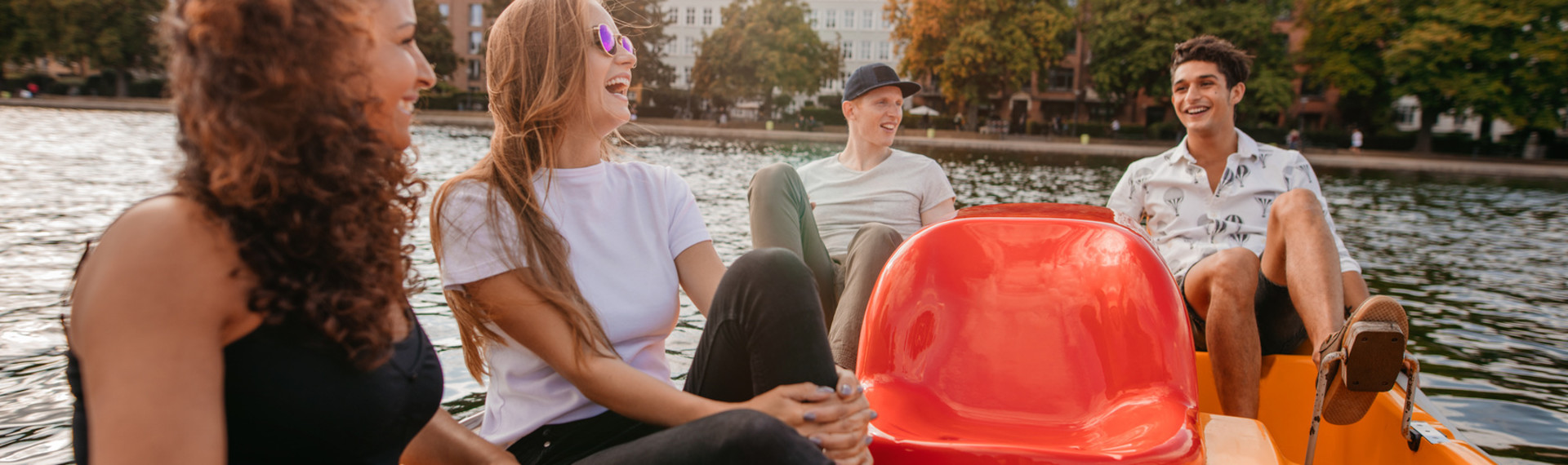 Pedalo Challenge in Amsterdam | Pissup