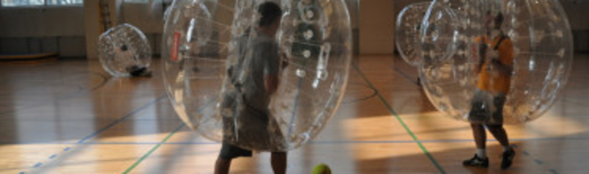 Munich Bubble Football & Arrow Tag image