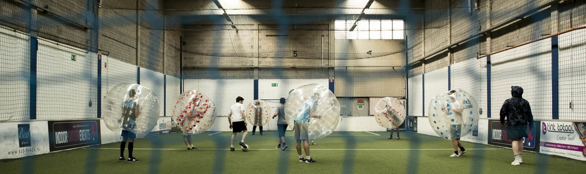 Amsterdam Bubble Football Indoor image