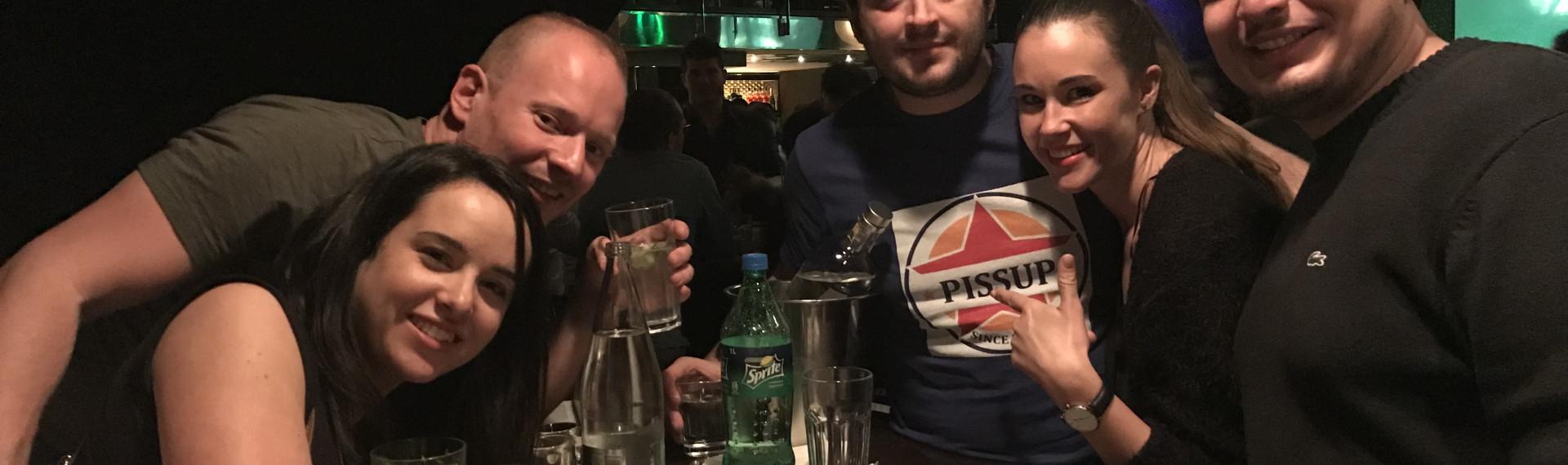 Tournée de Bars Pissup Prague