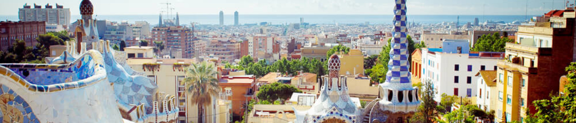 Barcelona Park Guell STOCK