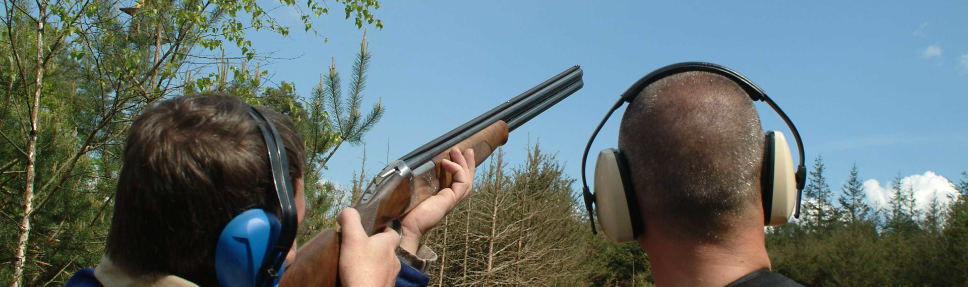 Clay pigeon shooting Prague