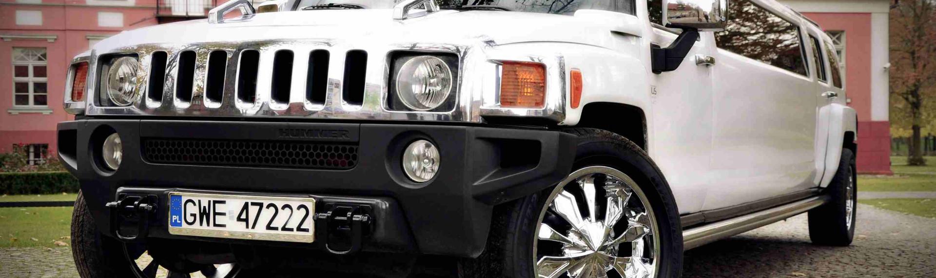 Hummer H2 StretchLimo White Gdansk (6)