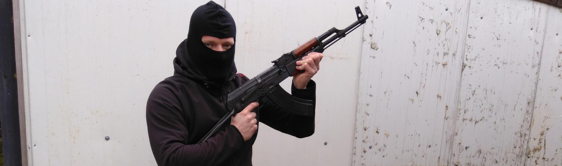 Kalashnikov Skydning Prag