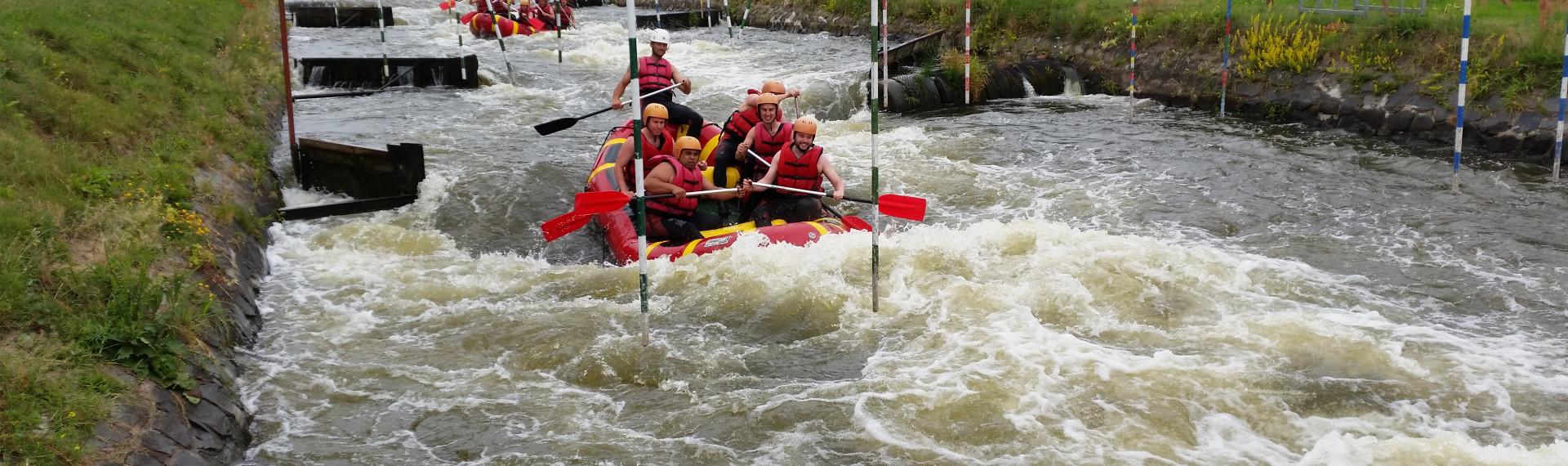 Wildwasser-Rafting Prague