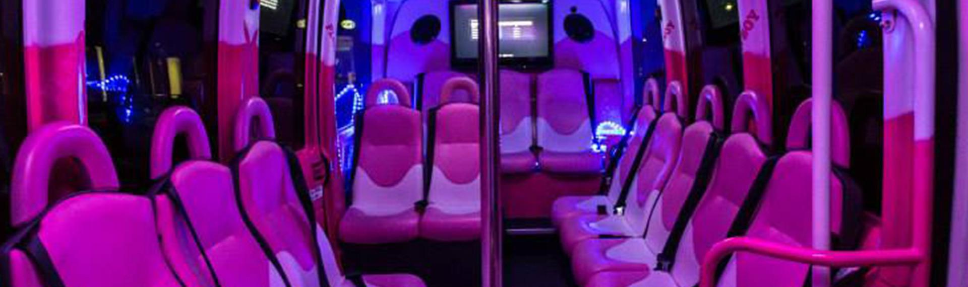 Partybus für 16 Personen Hamburg