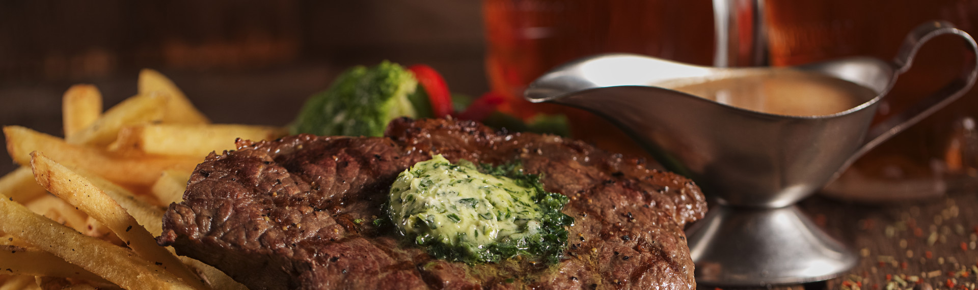 Un bon steak Prague