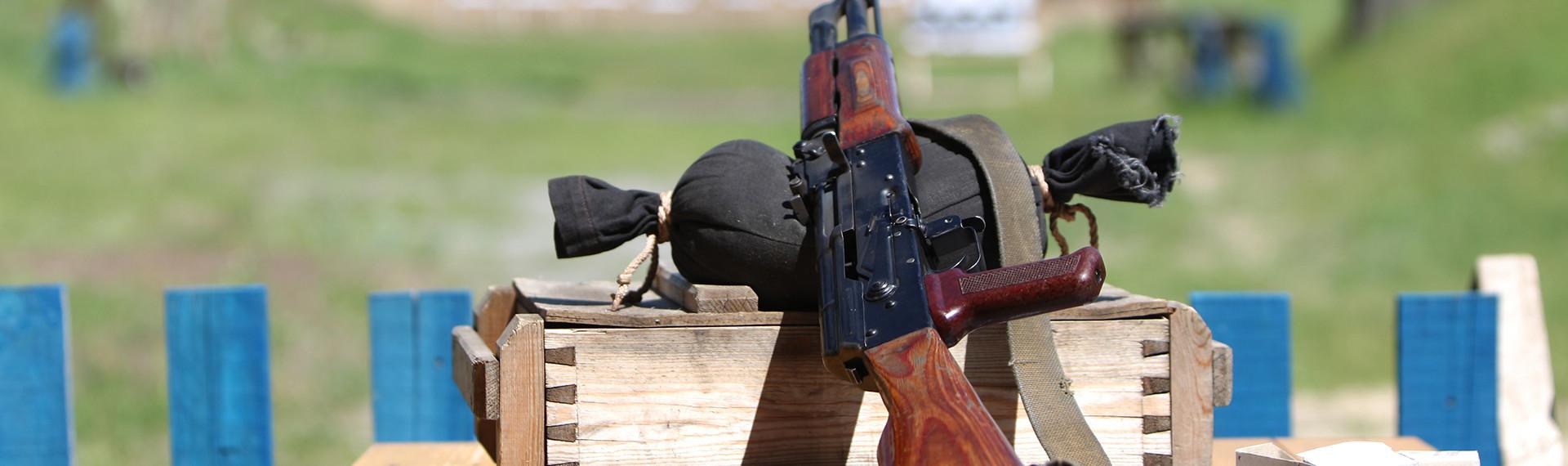 AK-47 Kalaschnikow schießen Berlin